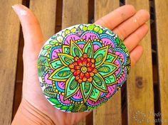 Mandala en piedra PiedraCreativa