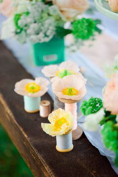 Photography: Corbin Gurkin Photography - corbingurkin.com Read More: http://www.stylemepretty.com/2011/08/16/french-inspired-vow-renewal-by-corbin-gurkin-photography/