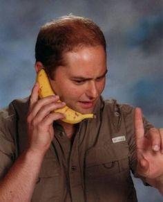 Fotos Engraçadas 15 - Um segundo por favor que a minha banana está tocando.