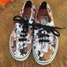 Vans ASPCA Cat Shoes 6 Women 4 5 Boys | eBay
