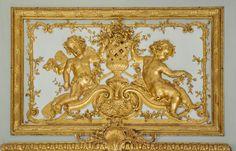Petit Trianon - Pavillon Français - dessus de porte