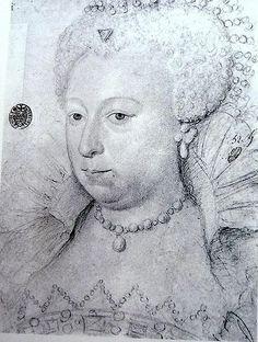 Marguerite de Valois, aged 37-52, portrait 1590-1605