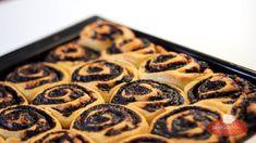 Kakaós csiga Waffles, Cooking Recipes, Make It Yourself, Baking, Breakfast, Karma, Foods, Youtube, Chef Recipes