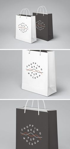 Product Packaging PSD Mockup and Template Design Blog, Tool Design, Free Design, Illustrator Design, Adobe Illustrator, Shopping Bag Design, Shopping Shopping, Logo Psd, Sacs Design