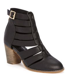 Love this Black Cornis Ankle Boot on #zulily! #zulilyfinds