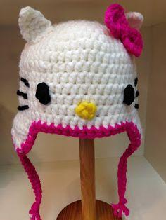 Allereerst willen we iedereen alle goeds toewensen voor 2014 en dat we maar weer leuke haaksels en breisels mogen maken! Zoals de Hello ... Free Crochet, Crochet Hats, Hello Kitty, Free Pattern, Crafts, Handmade, Babyshower, Fox, Room Decor