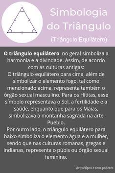 Triângulo Equilátero Magick, Witchcraft, Magic Symbols, Baby Witch, Book Of Shadows, Self Development, Reiki, Tarot, Spirituality