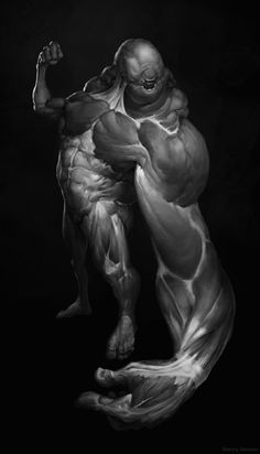 Biceps posing, Dmitry Solonin on ArtStation at https://www.artstation.com/artwork/biceps-posing