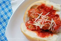 meatball-subs- easy camping meal
