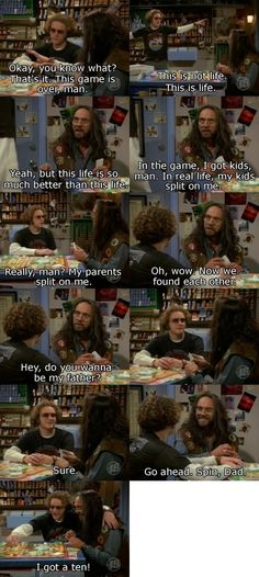 Hyde and Leo play Life.