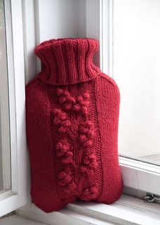 Hot Water Bottle Cover Pattern http://www.ravelry.com/patterns/library/winterberry