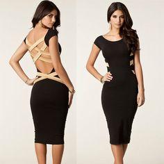 European Stylish New Arrival Women Bodycon Celebrity Casual Dress Party Dress | eBay