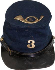Military & Patriotic:Civil War, Union Model-1859 Forage Cap by L. J. & I. Philips....