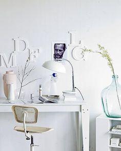 Decoración con letras, un accesorio DIY con mucho encanto