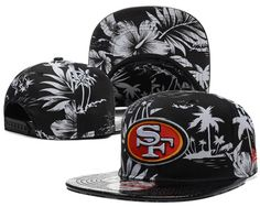 3ef10172813 NFL SAN FRANCISCO 49ERS SNAPBACKS Hats Plant Black 177