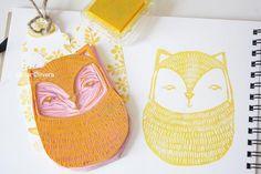 Ishtar Olivera - http://www.ishtarolivera.com/blog/2010/06/stamp-carving-tutorial-tutorial-sellos-de-goma/