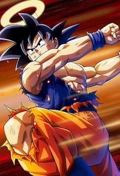 Son Goku (Fusion) card [Bucchigiri Match] by