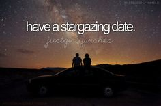 """Bucket list: have a stargazing date. Bucket List For Girls, Summer Bucket Lists, Relationship Bucket List, Relationship Goals, Life Goals, Bae, Together Lets, Romance, Before I Die"