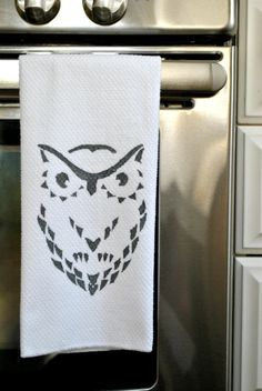 Debt Free by Thirty: Pinterest Challenge: Winter Edition or Making an Owl Towel