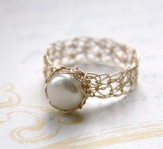 Pearl Stylish Ring