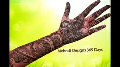 full hand mehndi designs step by step, full hand mehndi designs front an...