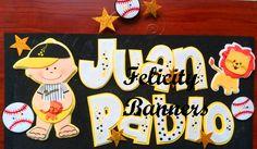 Banner en foami Beisbol Baby