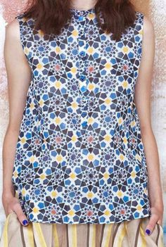 patternprints journal: PATTERNS AND PRINTS FROM PRE-SUMMER 2015 WOMAN FASHION COLLECTIONS / Tia Cibani