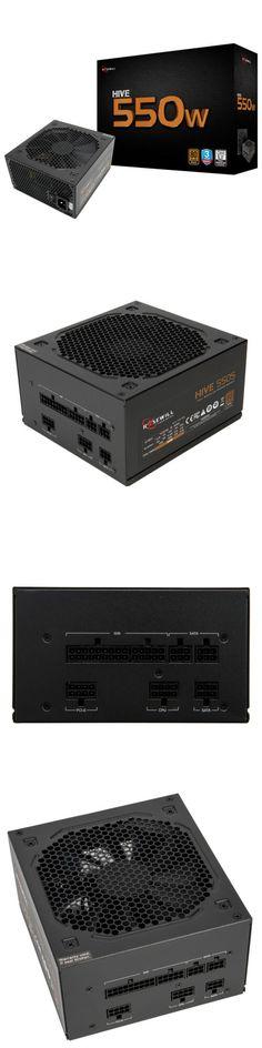 HIVE-550S Rosewill 550 Watt Gaming Computer Power Supply 80 Plus Bronze PSU
