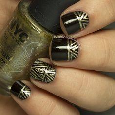 31DC2013 Day 8: Metallic Nails