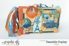 Worlds Fair Mini Album, Worlds Fair, by Danielle Copley, Product by Graphic 45