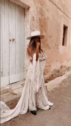 Top Wedding Trends, Couture Dresses, Panama Hat, Bohemian, Outfit, Pretty, Model, Style, Fashion