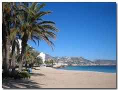 Arenal beach, Javea, Spain