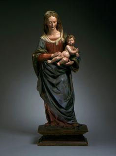 Agnolo di Polo, Virgin and Child (Firenze, ca. 1520, LACMA, Los Angeles)