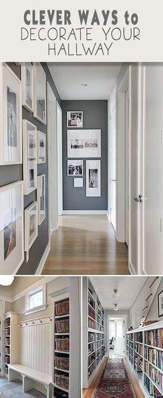 Clever Ways To Decorate Your Hallway U2022 Tips, Ideas U0026 Tutorials!
