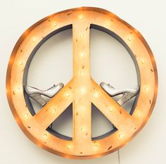 Love this peace piece in Irene Neuwirth's house.