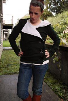 Sweatshirt Refashion TUTORIAL finally!!   Sisters, What!
