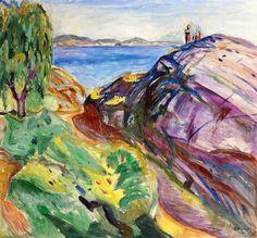Summer in Kragero.1911 by Edvard Munch