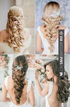 wedding hairstyles straight Straight Hai… – beautiful hair styles for wedding Latest Hairstyles, Bride Hairstyles, Down Hairstyles, Pretty Hairstyles, Shaggy Hairstyles, Hairstyle Ideas, Quince Hairstyles, Classy Hairstyles, Bridesmaid Hairstyles