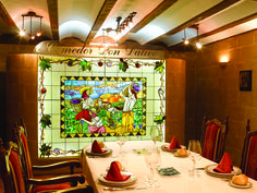 Restaurante. La Rioja. Vidrieras Susi y Julián S.C.