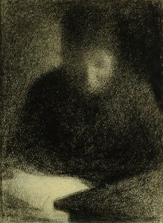 Georges Seurat drawing
