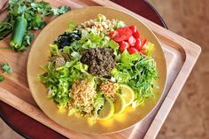 Fermented Tea Leaf Salad