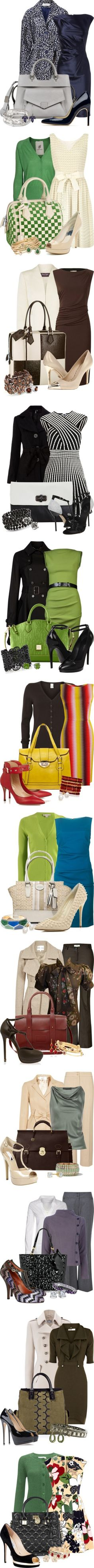 """Business Classy"" by happygirljlc 鉂?liked on Polyvore"