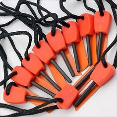 10pcs survival #magnesium flint and #steel striker fire #starter lighter stick ca,  View more on the LINK: 	http://www.zeppy.io/product/gb/2/152035453510/