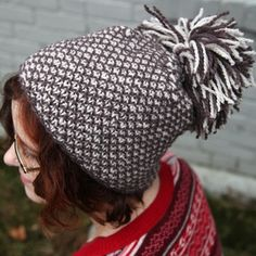 Little Whiskers Hat knit in soft and squishy Valley Yarns Greenwich