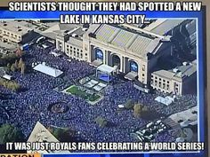 Royals parade. World series
