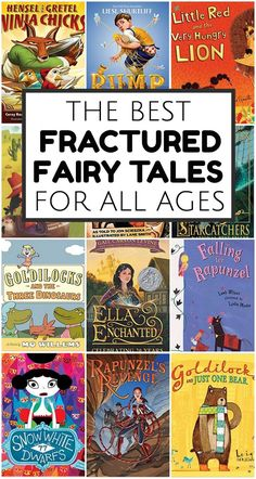 Looking for fractured fairy tales? This collection includes both picture books and novels - you'll love this whole fractured fairy tales list!
