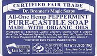 Dr. Bronner's Magic Soaps All-One Hemp Pure-Castile Soap Peppermint