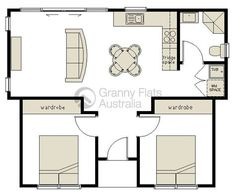 2 Bedroom Granny Flat Archives - Granny Flats Australia