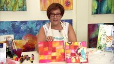 Faber-Castell Design Memory Craft: Gelatos Dry Techniques. Gelatos® are creamy sticks of pigment that are great when used dry.  Join Donna D...