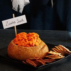 Make this cheesy Lobotomy Loaf for your Halloween party